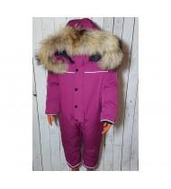 Комбинезон Канада Гус цвет фиолетовый  с кнопками